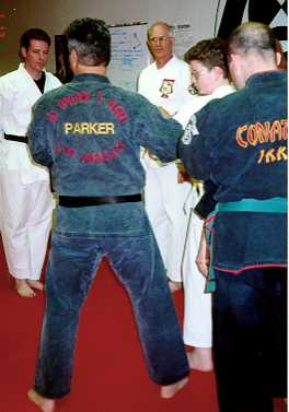Ed Parker Jr. Instructing Class